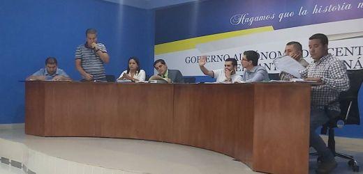 Sesión ordinaria del Concejo Cantonal de La Maná