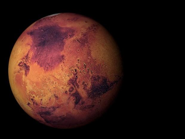 Murcia exige trasvasar el agua que se ha encontrado en Marte antes de que se seque