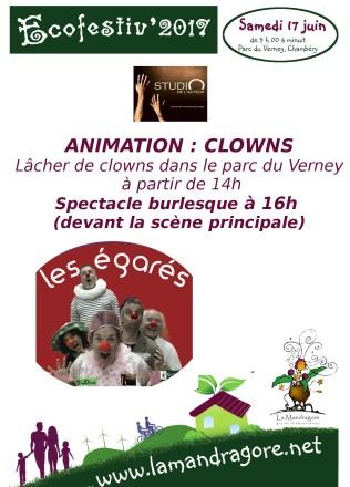Animation - Clown- Ecofestiv 2017