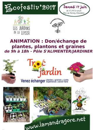 Animation - troc plantes - Ecofestiv 2017