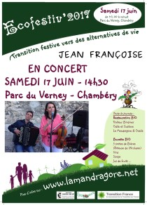 Concert - Jean Françoise - Ecofestiv 2017