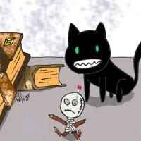 La Mandraka y el gato de la bruja