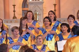 28 avril 2018 - Domarin : 1er concert d'un Festival, une page gospel s'écrit