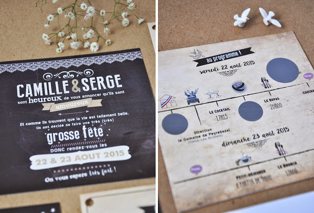3-faire-part-mariage-camilleserge-vintage-typographie-kraft-noir-beige-original-sur-mesure-3