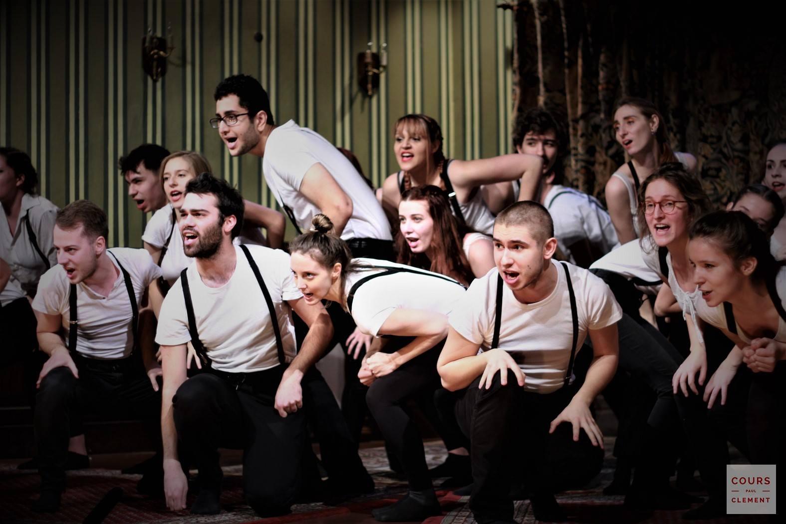 Manufacture de l'acteur au théâtre Saint Georges