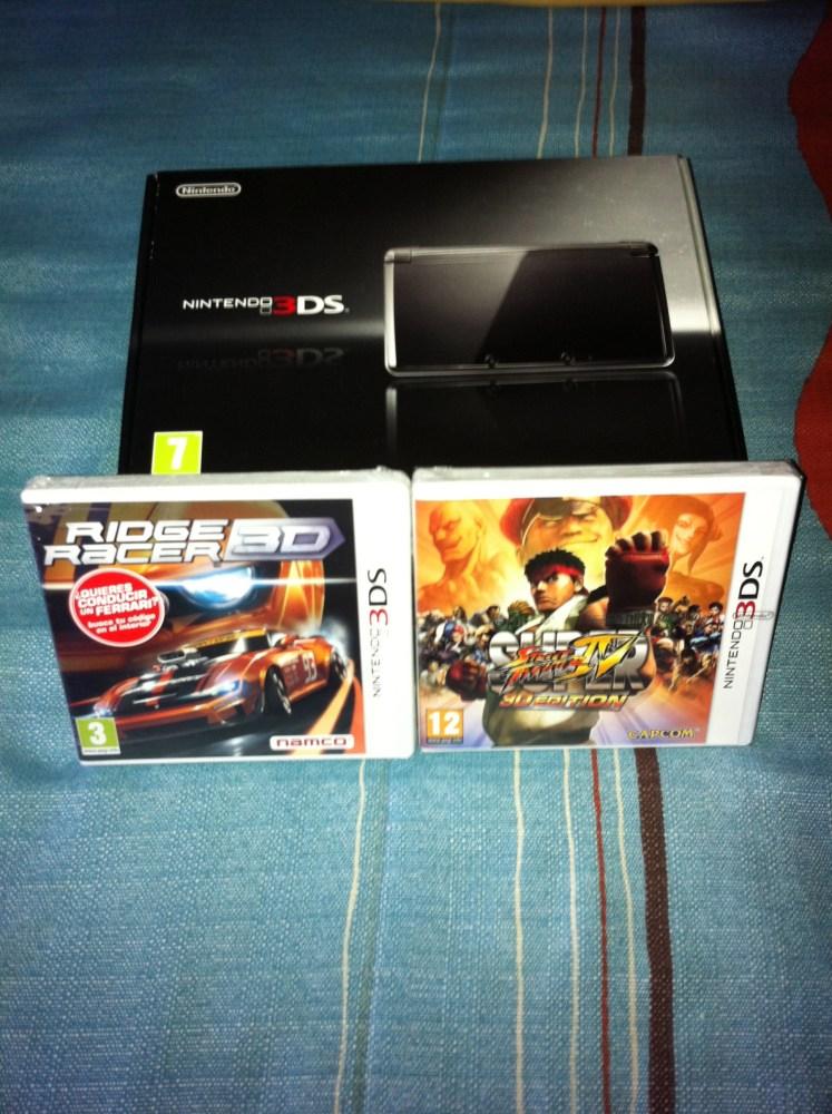 Primeras impresiones de Nintendo 3DS. Unboxing (1/6)