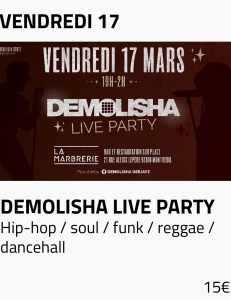 Visus site - demolisha live party fond