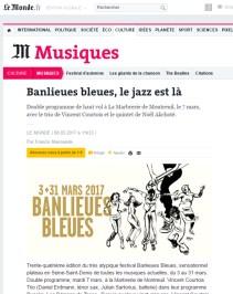 Le Monde - Banlieues bleues