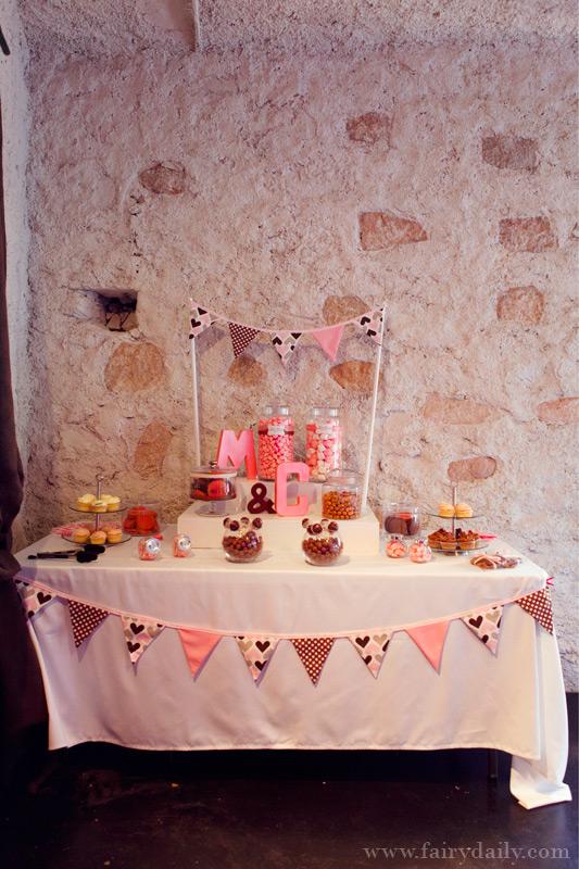 Dcoration Mariage Gourmandise Chic Ides Et D