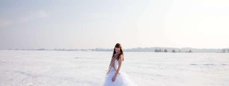 Mariée en hiver : une veste pour ne pas avoir froid