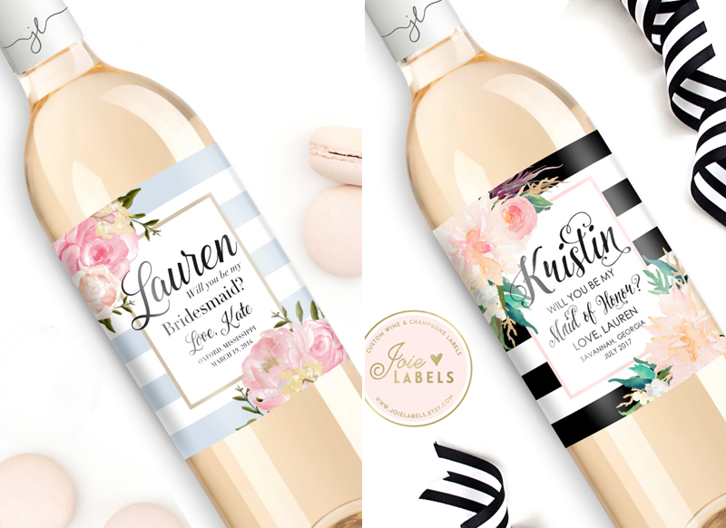 17-Custom-Will-You-Be-My-Bridesmaid-Wine-Bottle-LabelJoieLabels