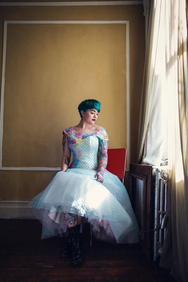 The-couture-company-alternative-bespoke-wedding-quirky-dresses-1950s-swing-vintage-lace-embroidered-lace-dress-bride-teal-blue-pink-polkadot-assassynation-90