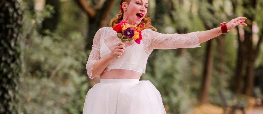 Shooting d'inspiration – Funky Lonely Bride