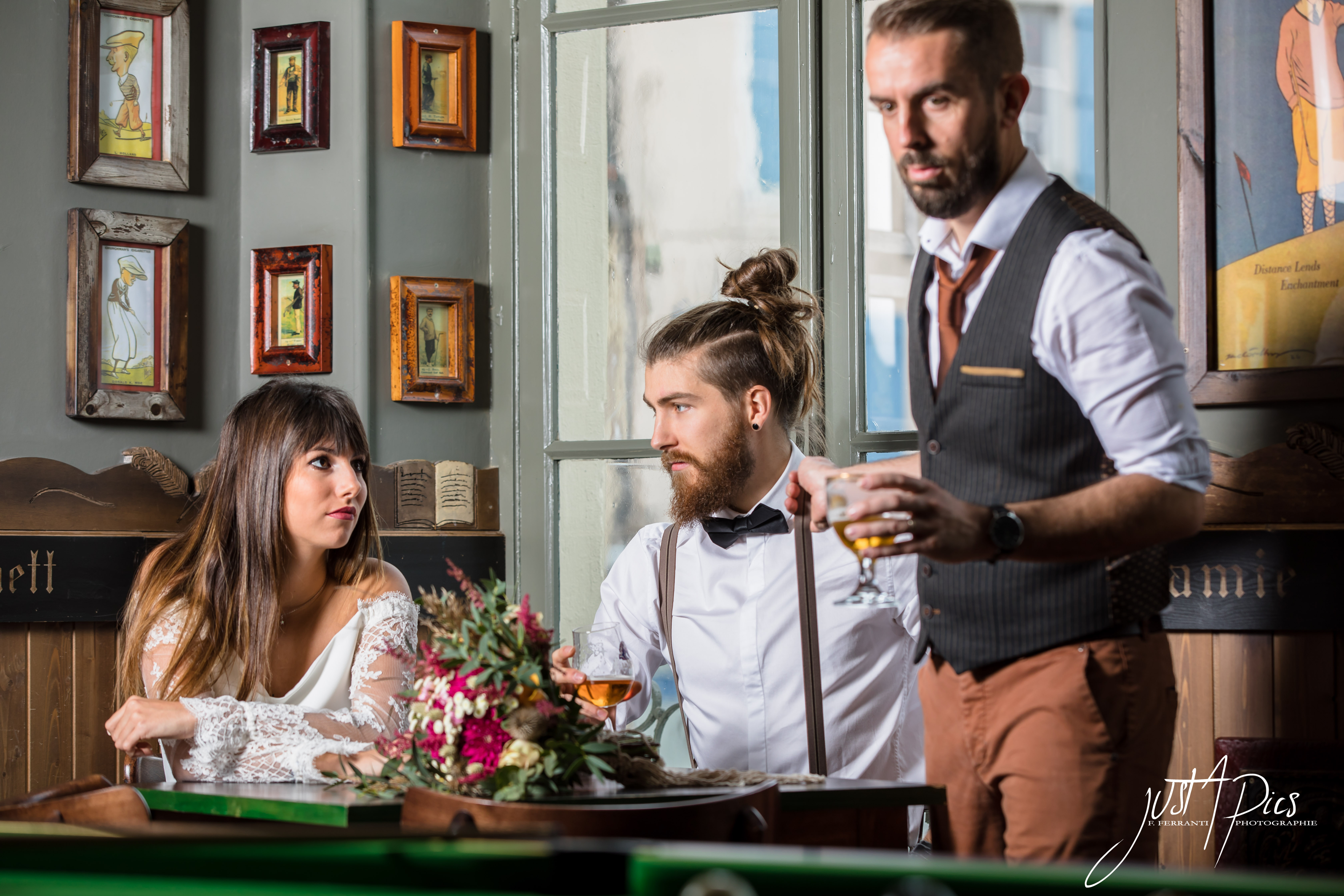 Mariage Hipster - Just A Pics