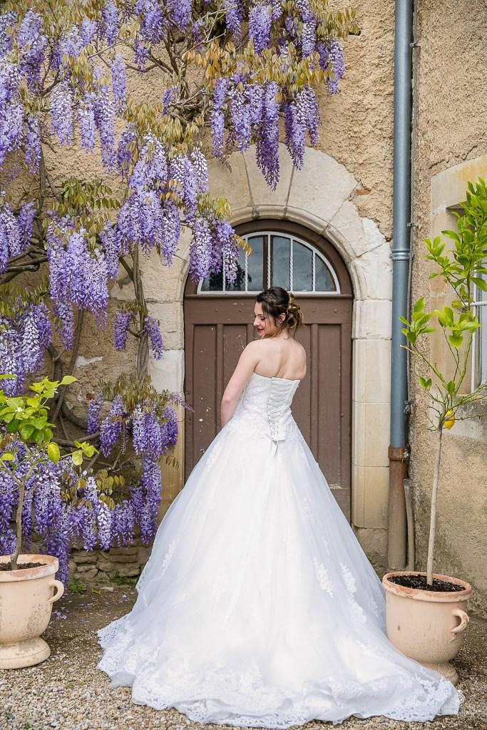 Mariage romantique chic robe de mariée