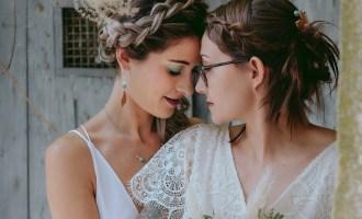 LGBT L'amour au féminin mariage