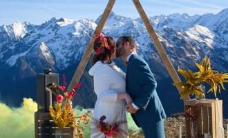 Shooting - Mariage au coeur de la montagne