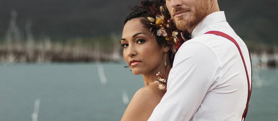 Anne-Cécile & Pierre, Elopement Terres du sud en Nouvelle Calédonie
