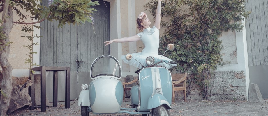 Shooting d'inspiration – Mariée à la française