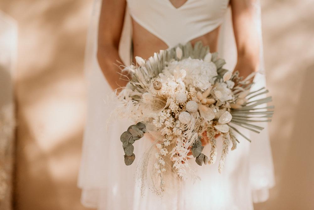 bouquet de mariage éco-responsable