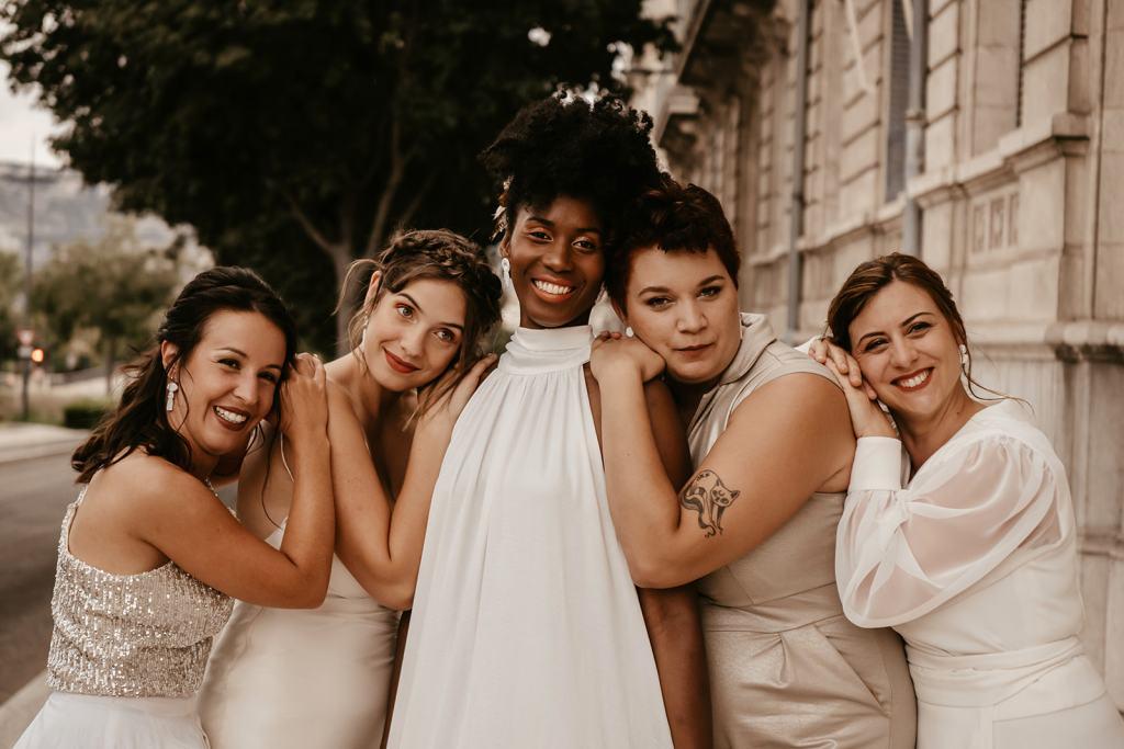 Girl Gang Robe de Mariée