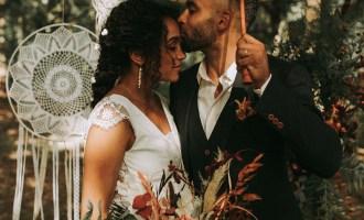 Mariage bohème et éco-responsable