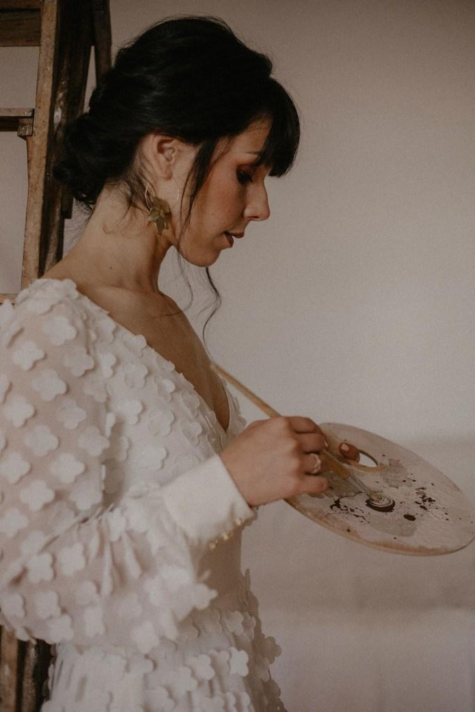 mariée bohème - Ateliers d'Artistes