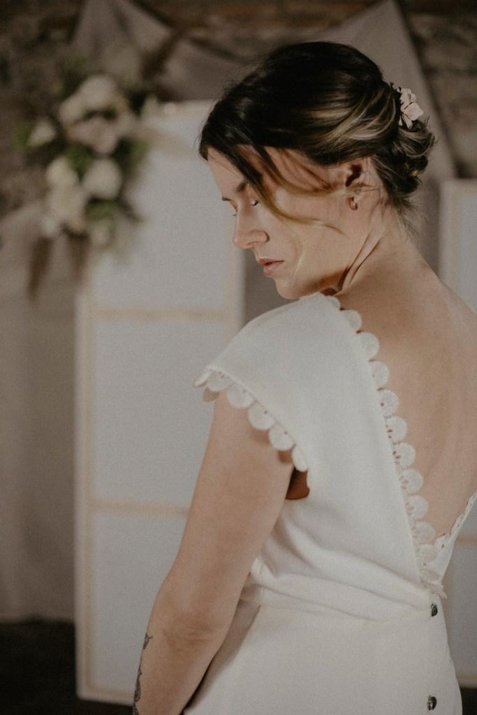 Robe de mariée - Atelier d'Artistes