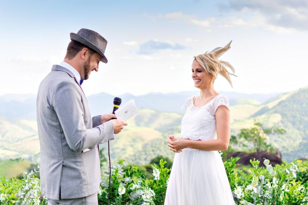 Mariage au Brésil en plein air