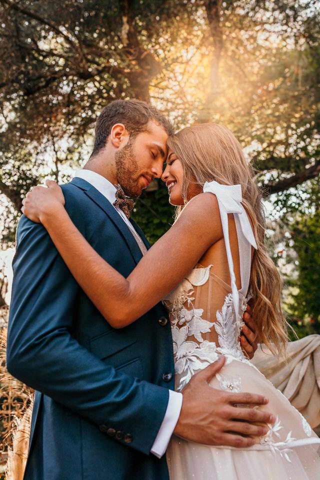 photo de mariage orient chic