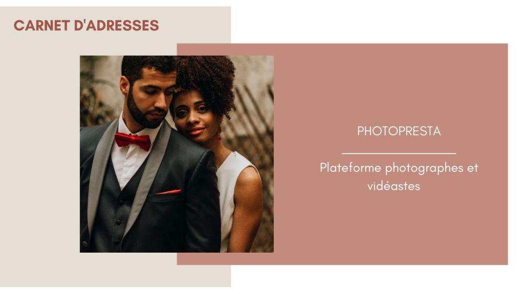 Photopresta photographes et vidéastes