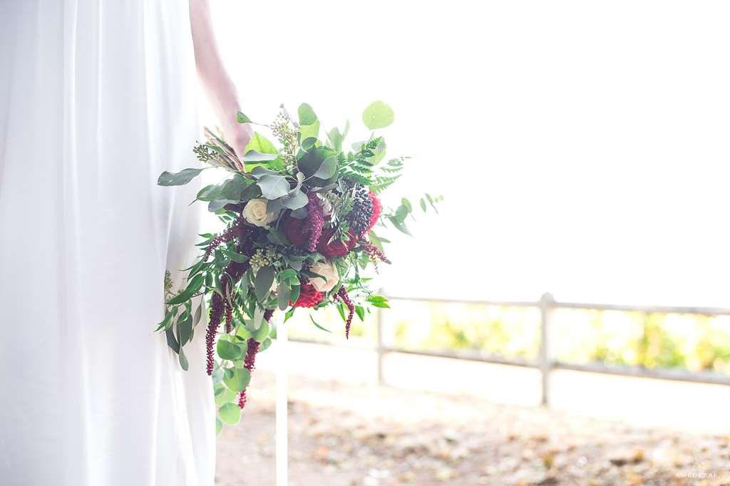 Bouquet de mariage sous les étoiles