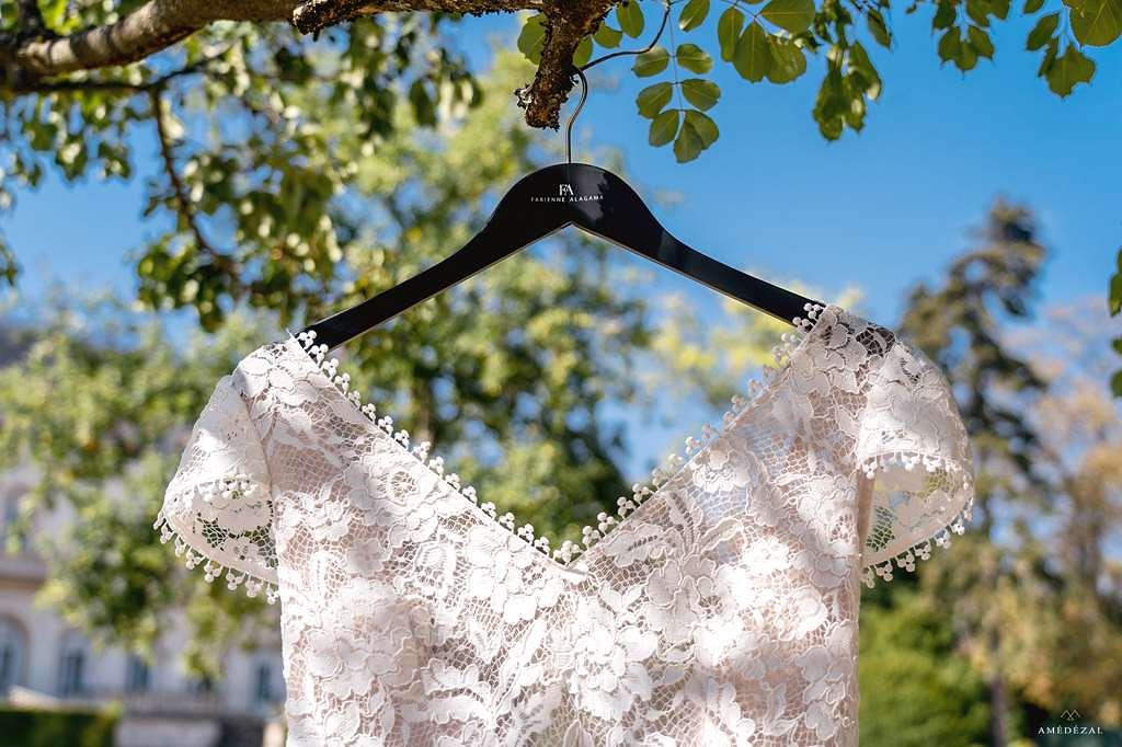 Robe de mariée en dentelles