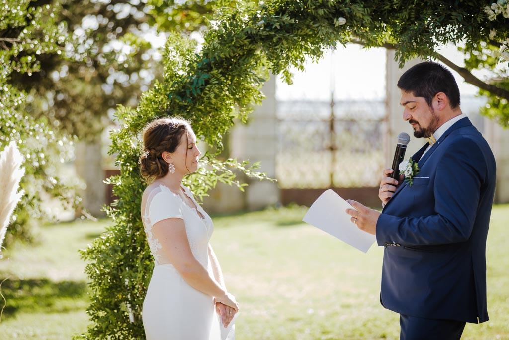 Cérémonie laïque mariage
