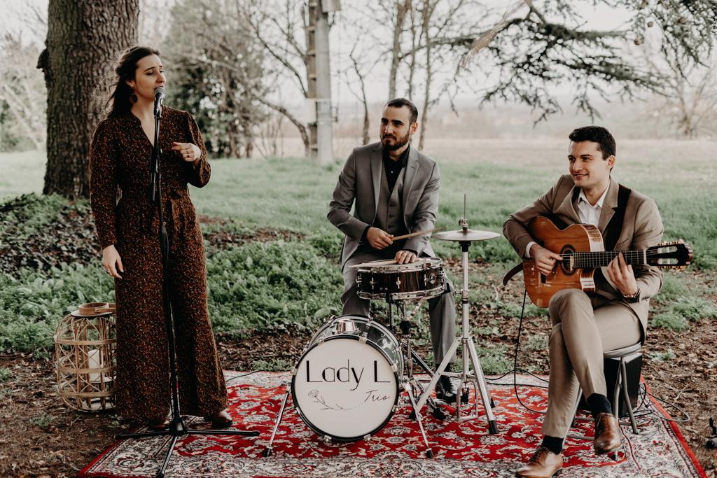 Lady L Trio groupe de musique mariage