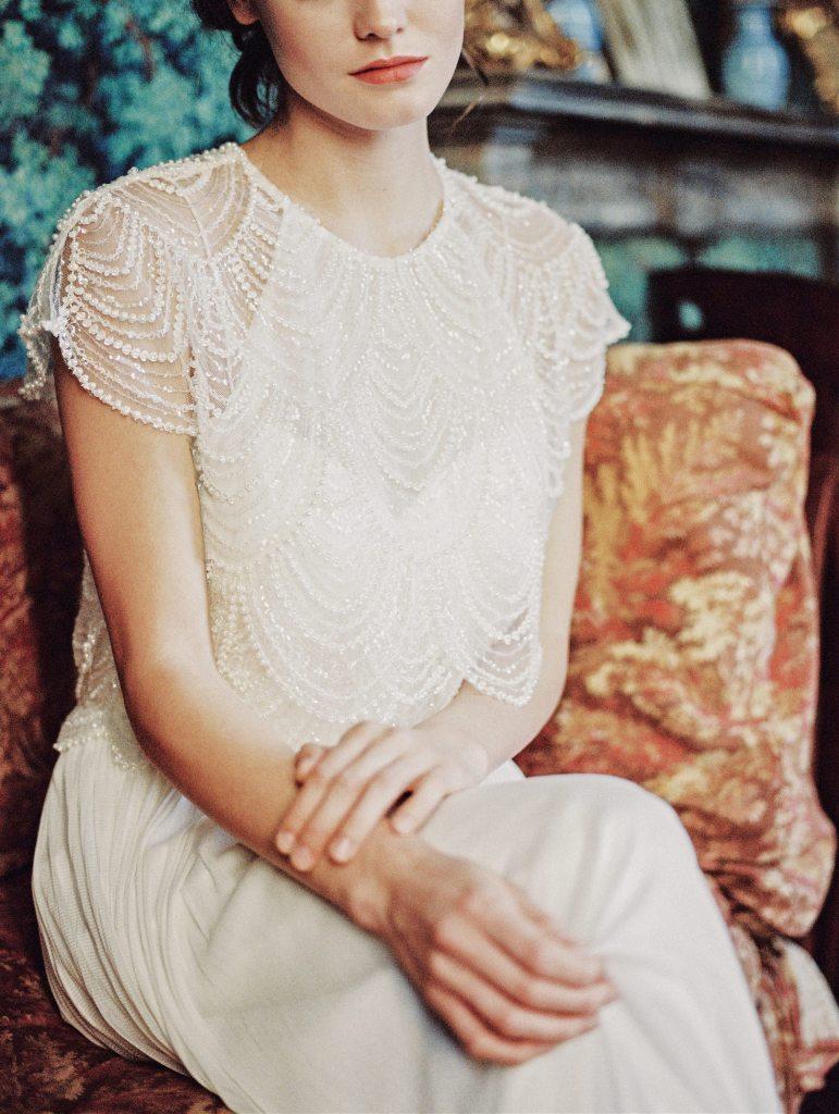Robe de mariée vintage bohème
