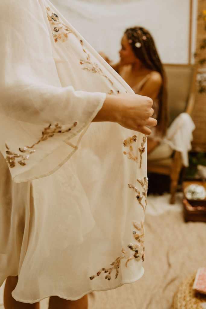 Lingerie future mariée