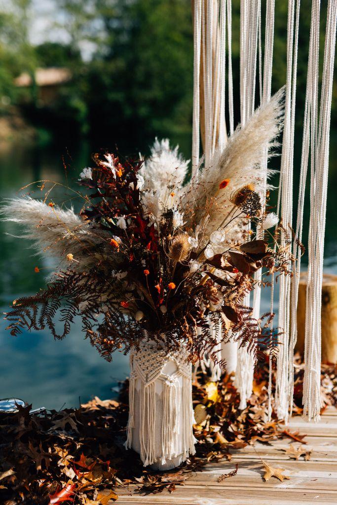 Bouquet mariage gipsy Folk