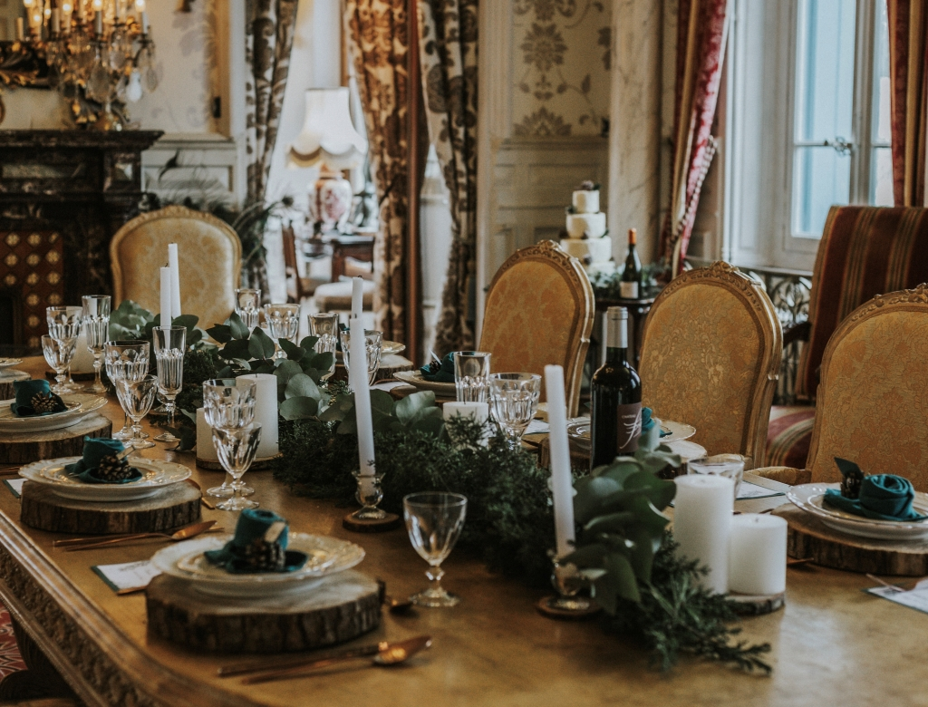 Mariage au château mignardises