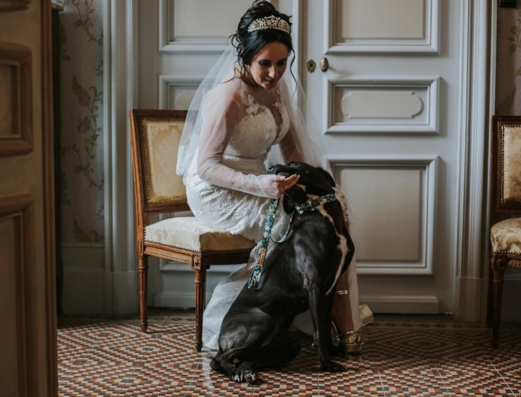 Mariage au château Robe de mariée