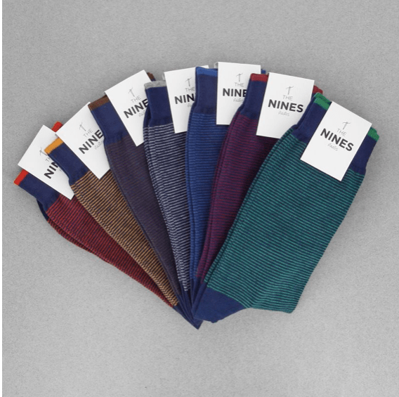 Semainier chaussettes mariage The Nines
