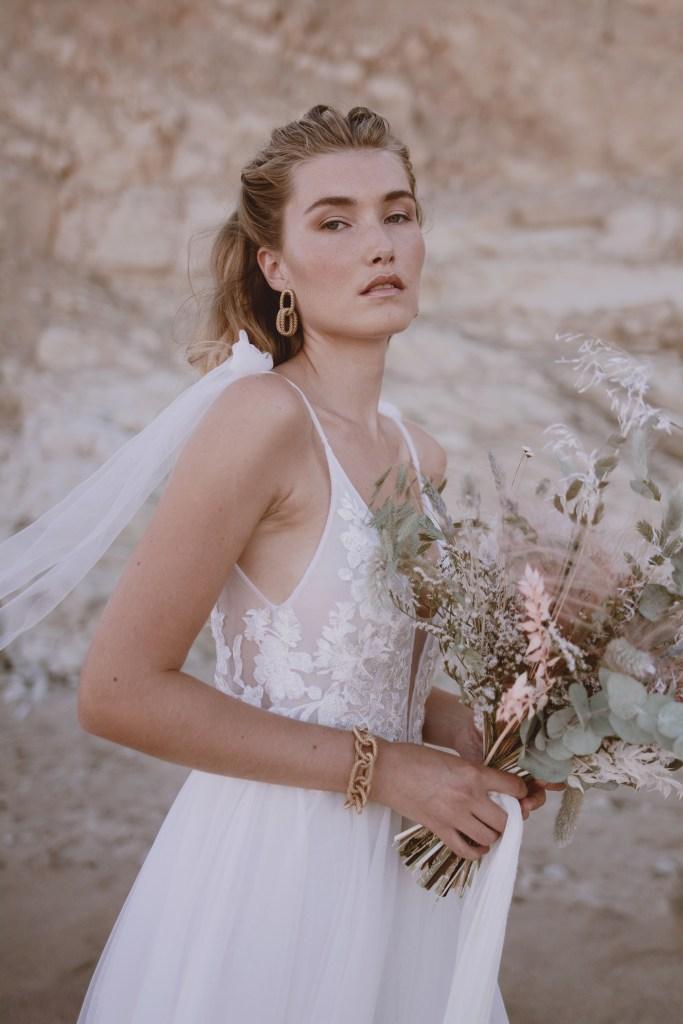 la fiancee de nerée robe de mariée