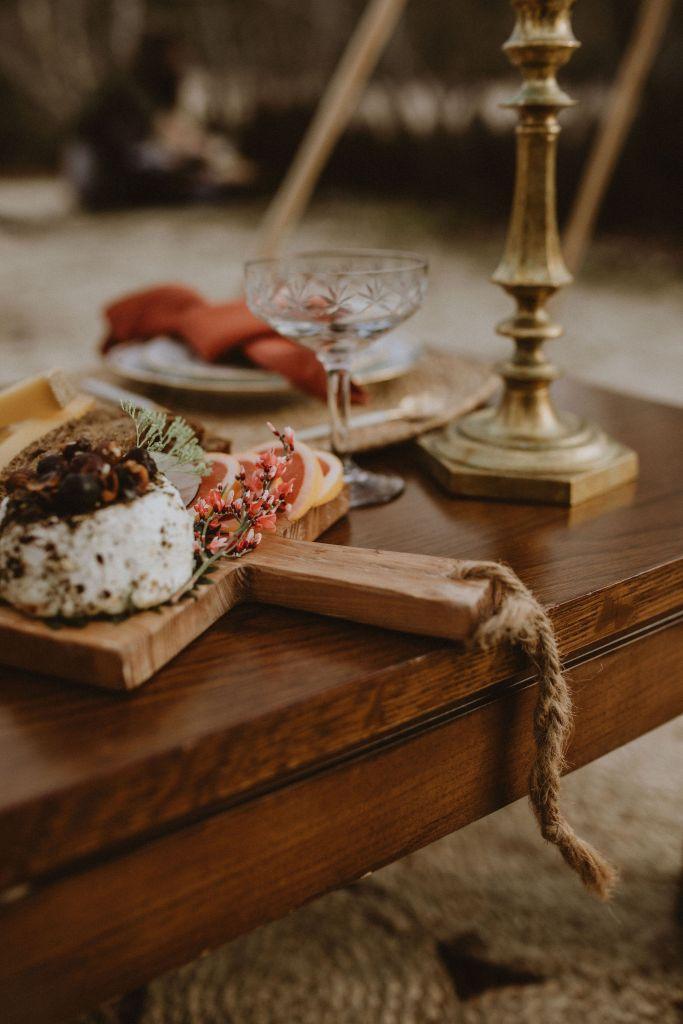 Traiteur mariage bohème folk