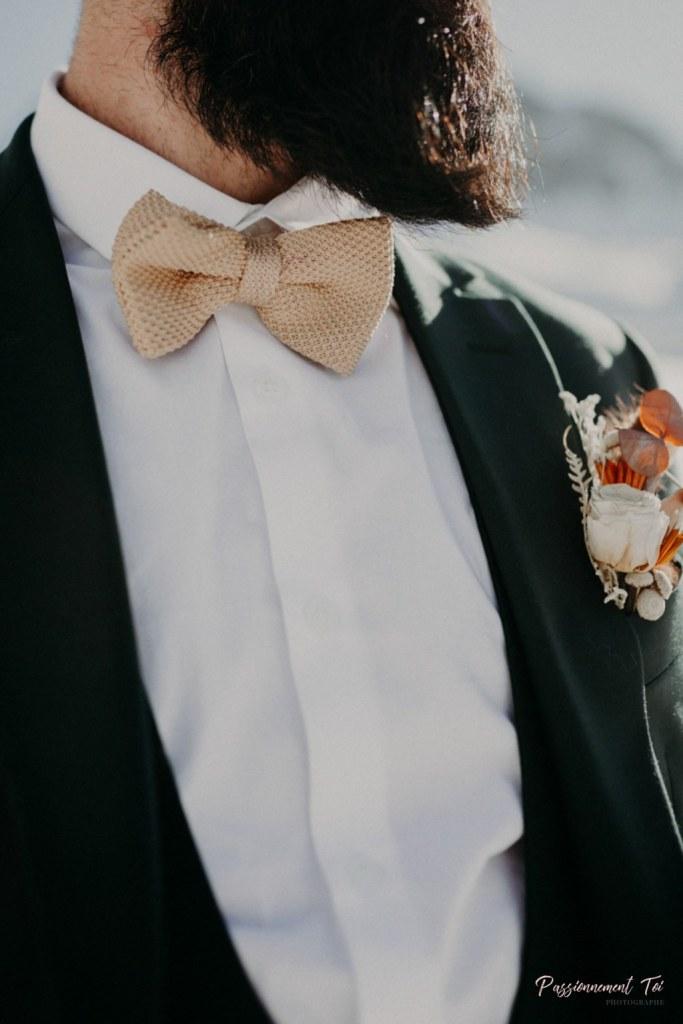 Accessoires de mariage noeud papillon