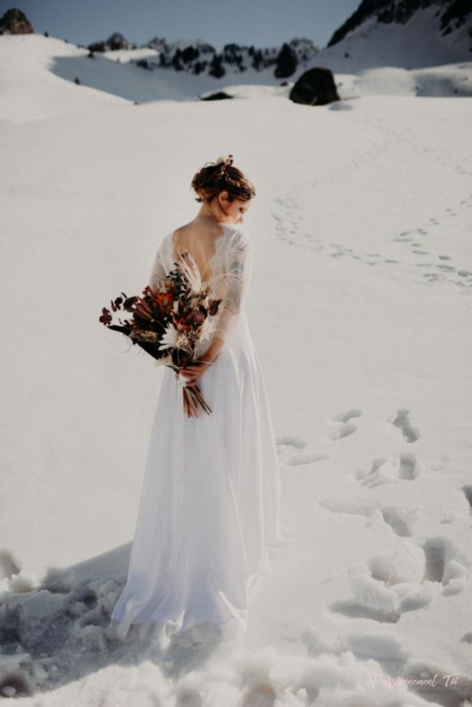Bouquet de fleurs mariage