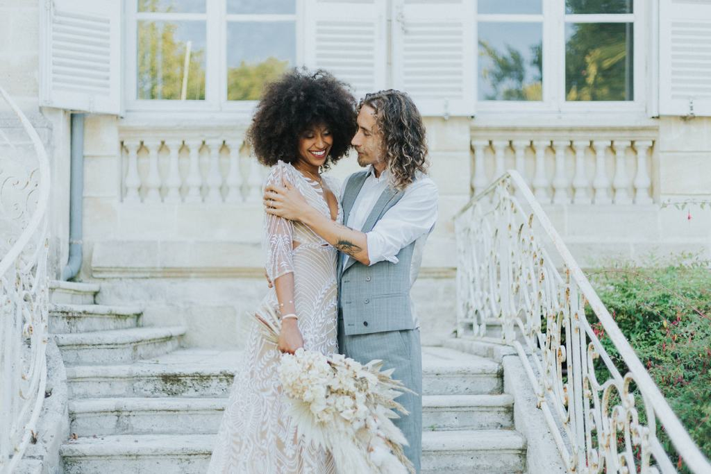 découverte des mariés boho