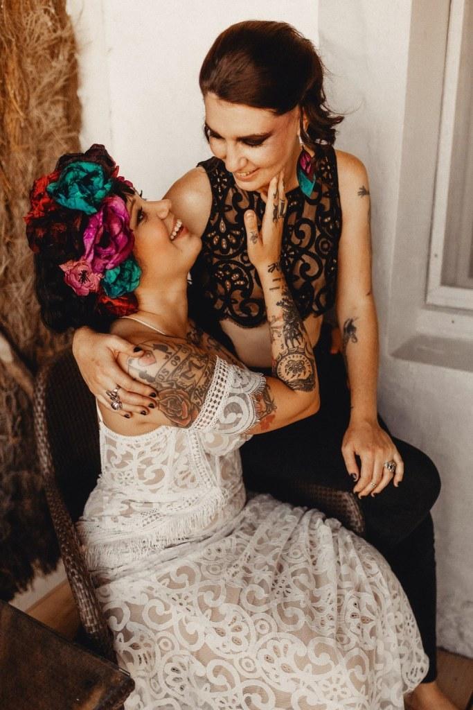 Mariage alternatif gay tatouages