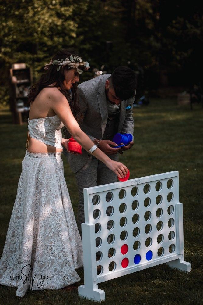 jeux en bois grandeur nature mariage