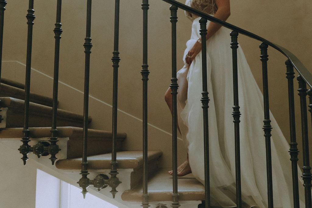 Robe de mariée rock