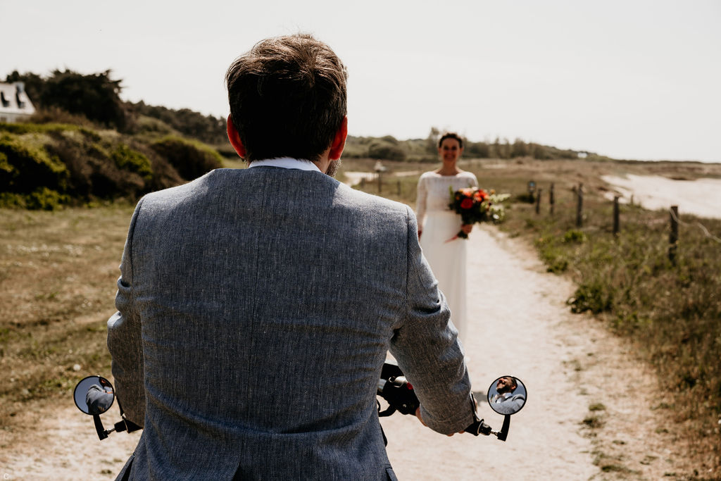 Mariage en moto